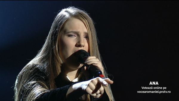 Vocea Romaniei 2017 - Semifinala: Ana Munteanu - I'd Rather Go Blind