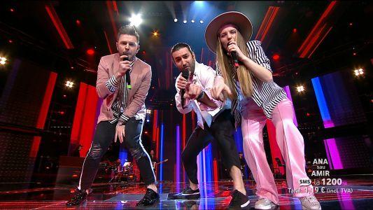 Vocea Romaniei 2017 - Semifinala: Trio Echipa Smiley - Uptown funk