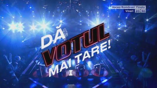 Pentru ei, FINALA este un NOU INCEPUT! Cine va fi VOCEA ROMANIEI? TU DECIZI! Marea finala Vocea Romaniei este vineri, de la 20:30 la PRO TV