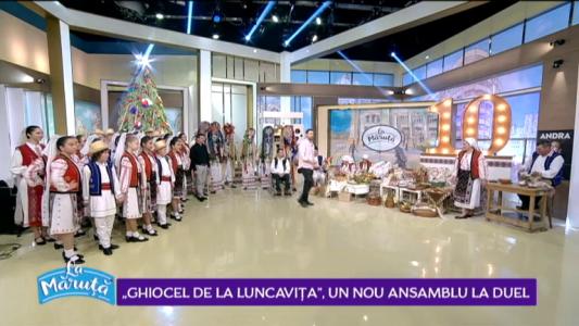 """""""Ghiocel de la Luncavita"""", un nou asamblu La Maruta"""