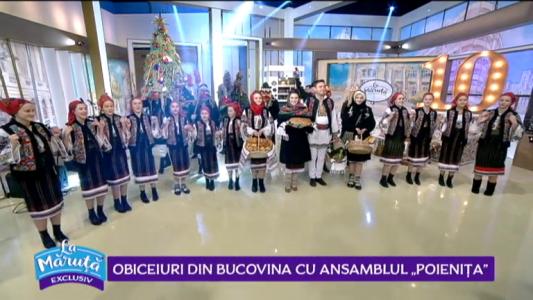 "Colindatorii din Bucovina cu ansamblul ""Poienita"""