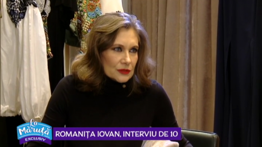Romanita Iovan, interviu de 10