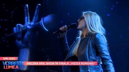 """Arilena Ara, show in finala ,,Vocea Romaniei"""""""