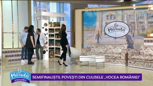 """Semifinalistii, povesti din culisele """"Vocea Romaniei"""""""