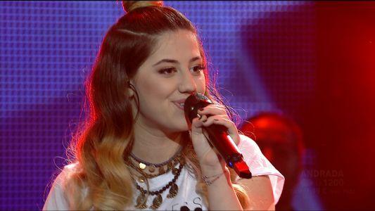Vocea Romaniei 2017 - Finala: Andrada Cretu  Mihail - Who You Are