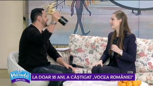 """La doar 16 ani, a castigat """"Vocea Romaniei"""""""