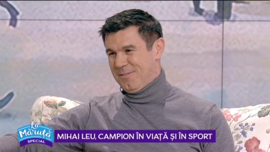 Mihai Leu, campion in viata si in sport