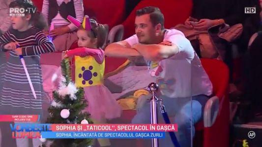 """Sophia si """"Taticool"""", spectacol in gasca"""