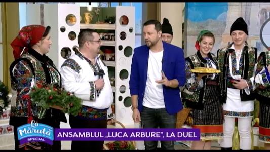 "Ansamblul ""Luca Arbure"", la duel"