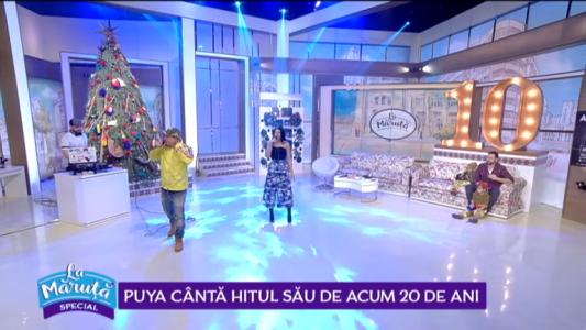 Puya canta hitul sau de acum 20 de ani