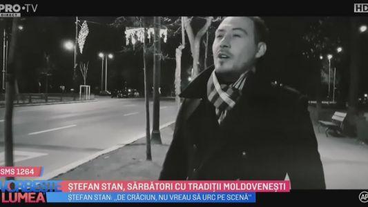 Stefan Stan, Sarbatori cu traditii moldovenesti