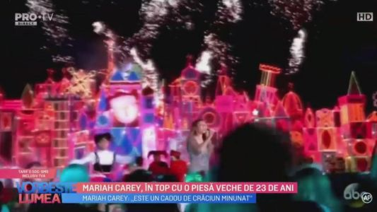 Mariah Carey, in top cu o piesa veche de 23 de ani