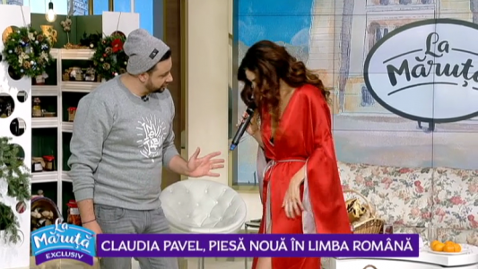 Claudia Pavel, pieas noua in limba romana