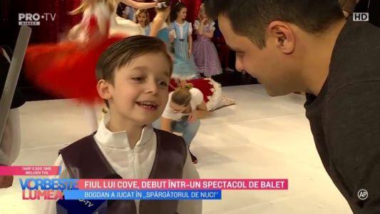 Fiul lui Cove, debut intr-un spectacol de balet