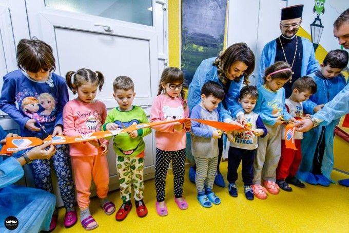 A strans 150.000 de euro; si a renovat voluntar o sectie de spital:  Sa lasam copiilor nostri o tara mai buna