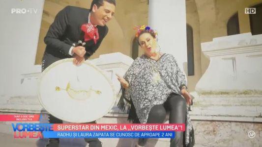 Superstar din Mexic, la Vorbeste lumea