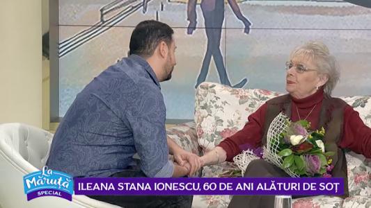 Ileana Stana Ionescu, 60 de ani alaturi de sot
