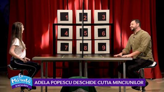 Adela Popescu deschide cutia minciunilor