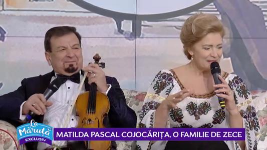 Matilda Pascal Cojocarita, o familie de zece