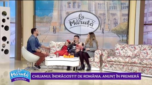 Chilianul indragostit de Romania, anunt in premiera