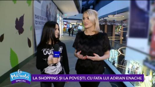 La shopping si la povesti, cu fata lui Adrian Enache
