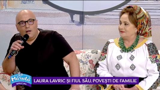 Laura Lavric si fiul sau, povesti de familie