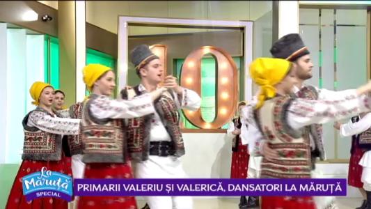 Primarii Valeriu si Valerica, dansatori La Maruta