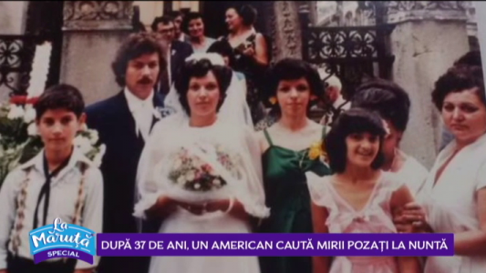 Dupa 37 de ani, un american cauta mirii pozati la nunta