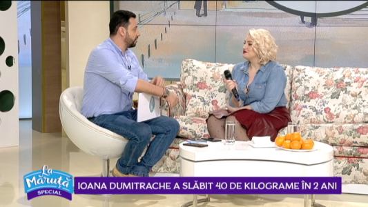 Ioana Dumitrache a slabit 40 de kilograme in 2 ani