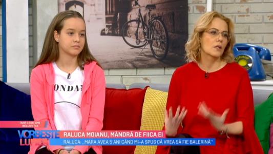 Raluca Moianu, mandra de fiica ei