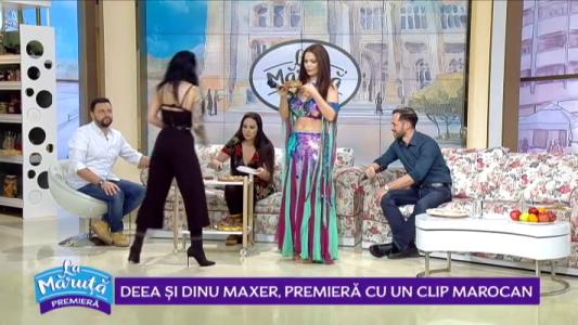 Deea si Dinu Maxer, premiera cu un clip marocan
