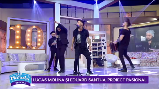 Lucas Molina si Eduard Santha, proiect pasional