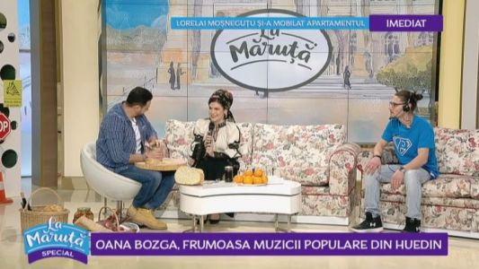 Oana Bozga, frumoasa muzicii populare din Huedin