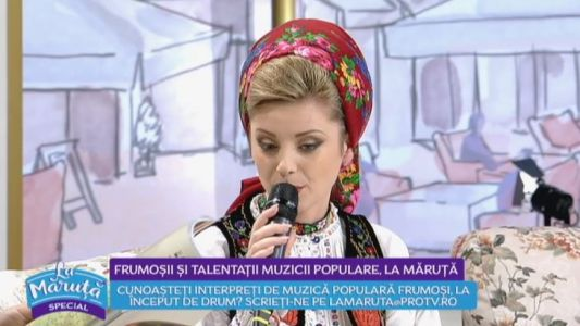 Frumosii si talentatii muzicii populare La Maruta