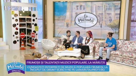 Frumosii si talentatii muzicii populare La Maruta - II