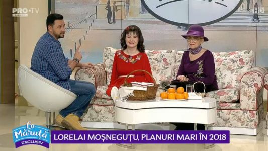 Lorelai Mosnegutu, planuri mari in 2018
