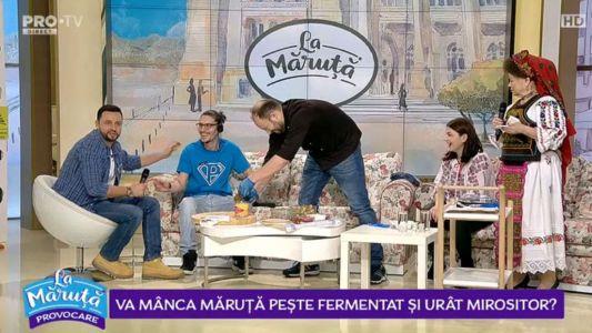 Va manca Maruta peste fermentat si urat mirositor?