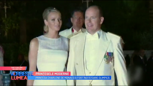 Printesa Charlene de Monaco a fost inotatoare olimpica