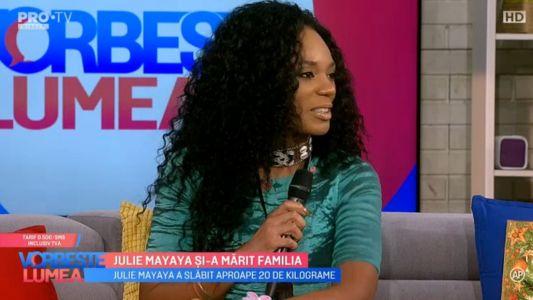 Julie Mayaya si-a marit familia