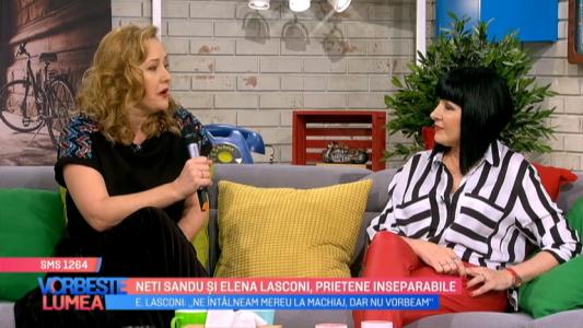 Neti Sandu si Elena Lasconi, prietene inseparabile