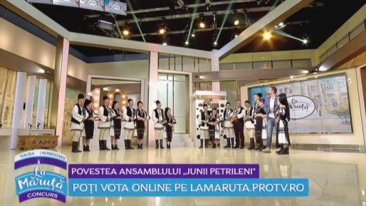 """Povestea Ansamblului """"Junii Petrileni"""""""