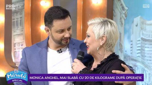 Monica Anghel, mai slaba cu 20 de kilograme dupa operatie