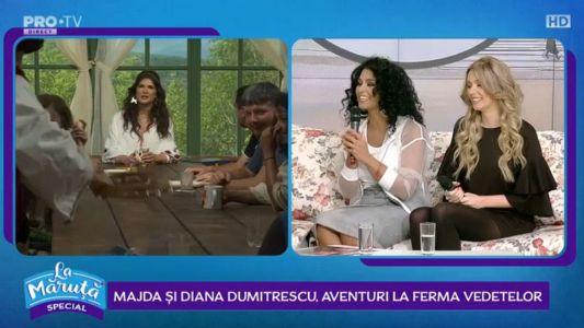 Majda si Diana Dumitrescu, aventuri la Ferma Vedetelor