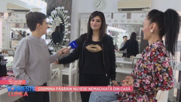 Cosmina Pasarin nu iese nemachiata din casa