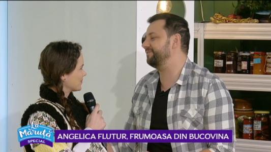 Angelica Flutur, frumoasa din Bucovina
