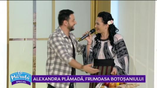 Alexandra Plamada, frumoasa Botosaniului