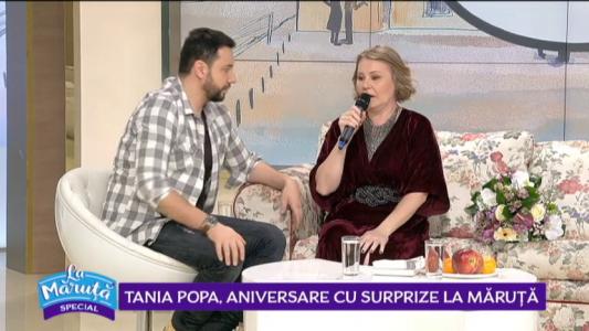 Tania Popa, aniversare cu surprize La Maruta