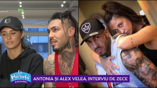 Antonia si Alex Velea, interviu de 10