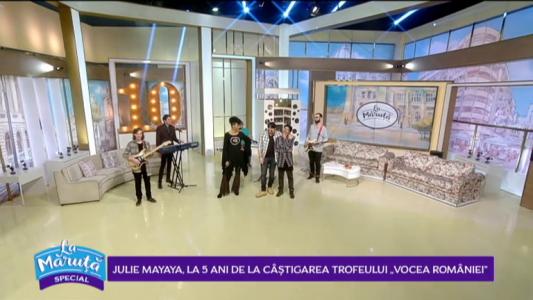 """Julie Mayaya, la 5 ani de la castigarea trofeului """"Vocea Romaniei!"""