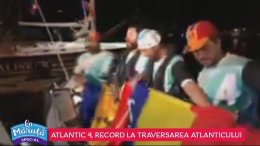 Atlantic 4, record la traversarea Atlanticului